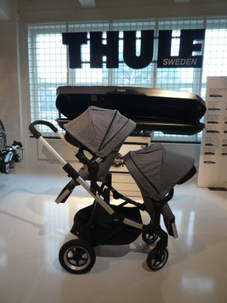 thule sleek siblingstroller